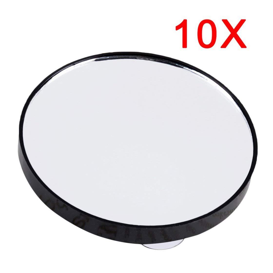 Miroir de maquillage vanité 5X 10 X 15 miroir grossissant avec deux ventouses cosmétique outils mini miroir rond salle de bain miroir Gwendoll