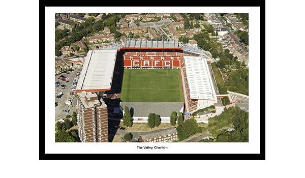 Charlton Fc, Estadio El Valle antena View foto enmarcada ...