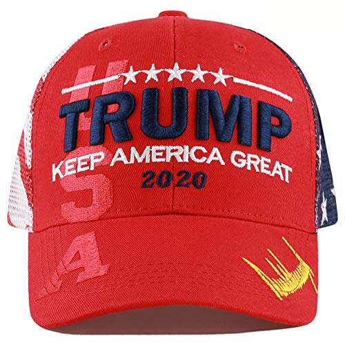 Embroidered Hat Shadow - The Hat Depot Exclusive Donald Trump 2020