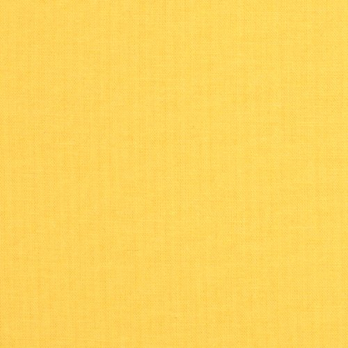 Robert Kaufman Kona Cotton Lemon Fabric by The Yard, Lemon