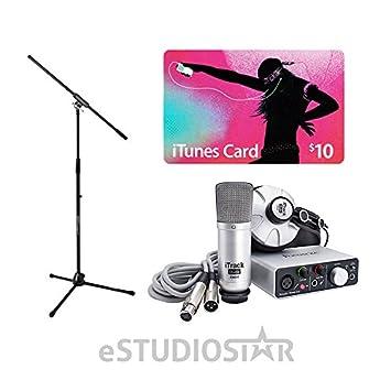 Focusrite iTrack - Studio Lightning paquete completo de ...