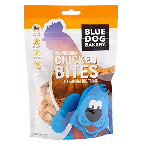 Blue Dog Bakery Natural Dog Treats, Grain Free, Chicken Bites