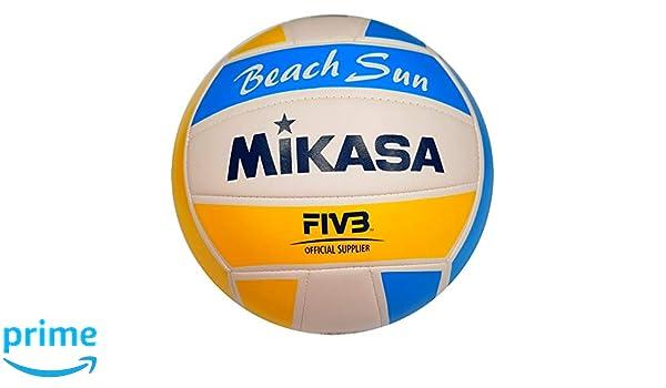 MIKASA – Balón Beach VXS – BS V3, Unisex Adulto, Blanco/Azul ...