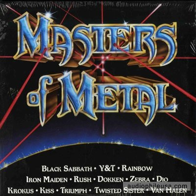 Masters Of Metal Volume 1   Various   Canada Pressing  Vinyl Lp Record