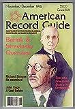 img - for American Record Guide - Nov / Dec 1992 - Vol.55 No.6