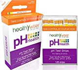 #8: pH Test Strips 120ct - Tests Body pH Levels for Alkaline & Acid levels Using Saliva and Urine. Track and Monitor Your pH Balance & A Healthy Diet, Get Accurate Results in Seconds. pH Scale 4.5-9