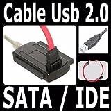 MODAVELA Cable Adaptador De Disco Duro 3 En 1 2.0 Sata IDE Disco Duro