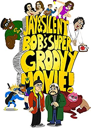 Jay & Silent Bobs Super Groovy Movie Reino Unido DVD ...