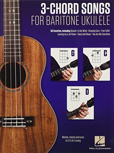 - 3-Chord Songs For Baritone Ukulele (G-C-D)