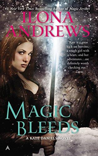 Magic Bleeds (Kate Daniels Book 4) cover