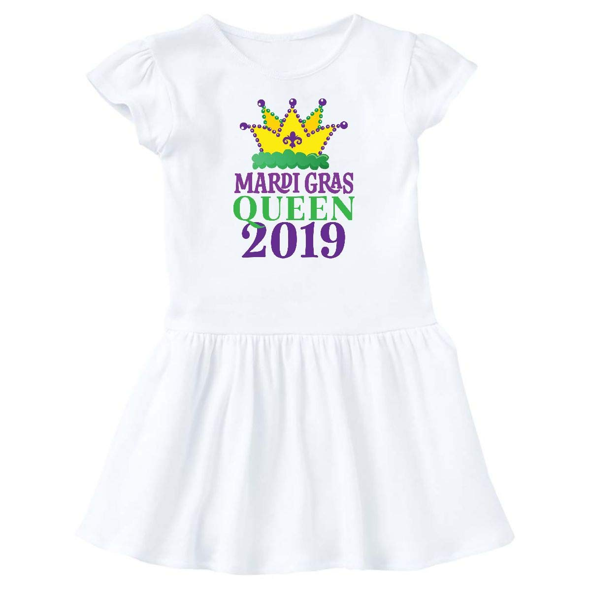 inktastic Mardi Gras Queen 2019 Toddler T-Shirt
