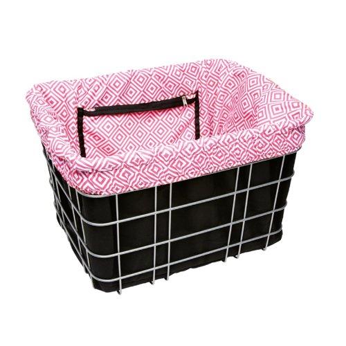 Electra Bicycle Electra Basket Liner Schwarz Pink Korbeinsatz Wende Tasche Gepäck, 806012