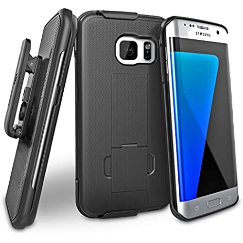 Samsung Galaxy S7 EDGE (Ultra-Slim) Case & Belt Clip Holster w/ Kickstand (Encased New 2016 Release Sales