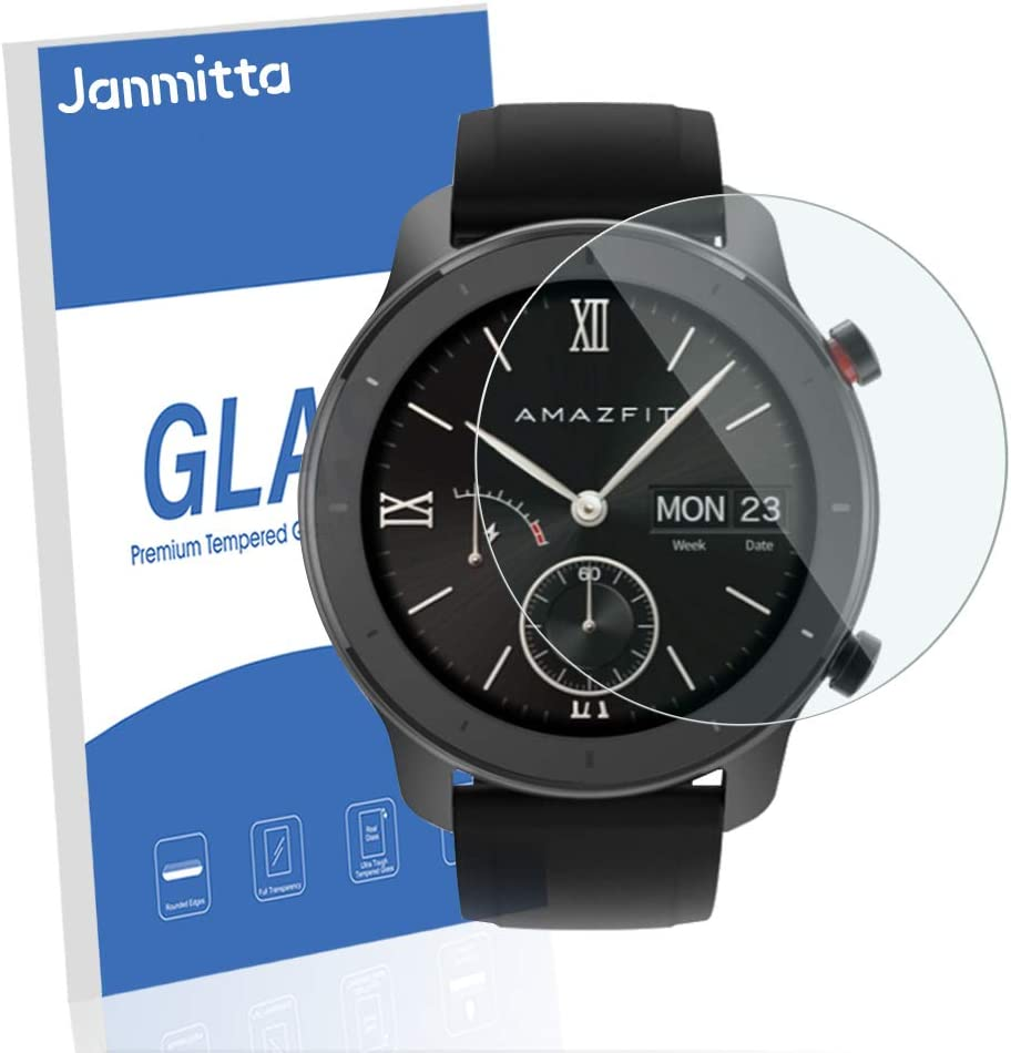 Amazon.com: [4 Pack] Janmitta Amazfit GTR 42mm (D30.5 ...