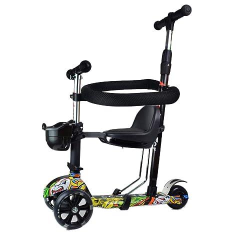 Baby Stroller YXGH@ Patinete para niños 5 en 1, Rueda de ...