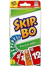 SKIP BO Card Game - Mattel