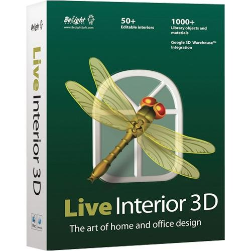 Belight Software Live Interior 3D : Art of Home and Office Design -  Macintosh