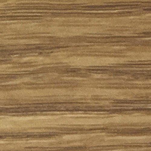 Wooden Mallet 37-Inch 6-Brass Hook Shelf, Light Oak