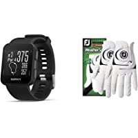 $106 » Garmin Approach S10 - Lightweight GPS Golf Watch, Black, 010-02028-00 Bundle with…