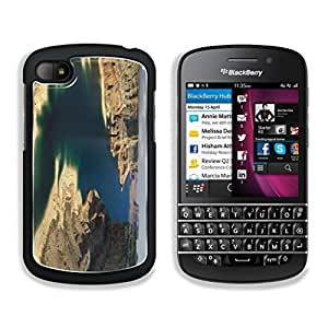Beautiful lake makes Canyon alive DiamondStar1234 BlackBerry Q10 Snap Cover Premium Aluminum Design Case Customized Made to Order