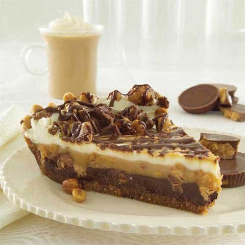 Sweet Street Chocolate Peanut Butter Gourmet Pie - 14 Slice -- 2 per case. by Sweet Street