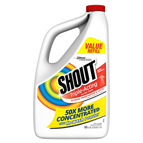 (Shout Triple-Acting Liquid Refill 60 fl oz. (Pack of 6))