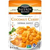 Saffron Road Simmer Sauce, Coconut Curry, 7 Ounce (Pack of 8)