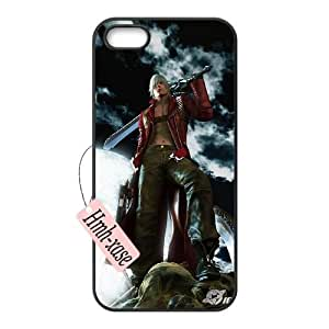 Durable Case for iPhone 5,iPhone 5s w/ Devil May Cry image at Hmh-xase (style 6)