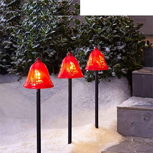 Christmas Bell Pathway Lights
