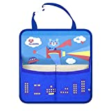 RuYa Car Backseat Cartoon Organizer Bag Car Accessories Cell Phone iPad Pocket Cotton Storage for Kid's Toy Pouch