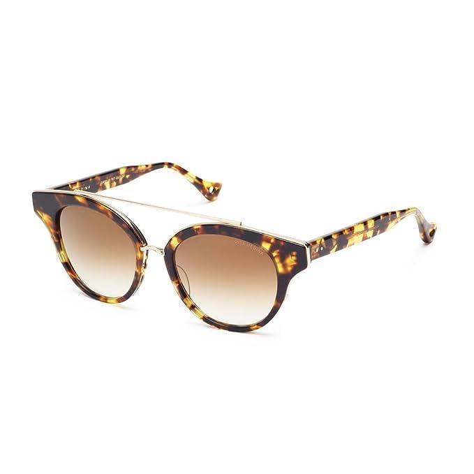 eabb45952b7 Amazon.com  Dita Medina 22023B Unisex UV Protection Sunglasses Tokyo  Tortoise  Shiny 12K Gold  Clothing