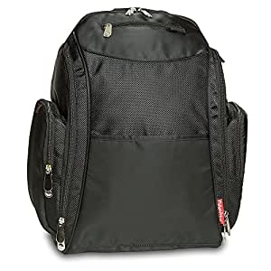 Fisher Price Backpack Diaper Bag - Fastfinder Black