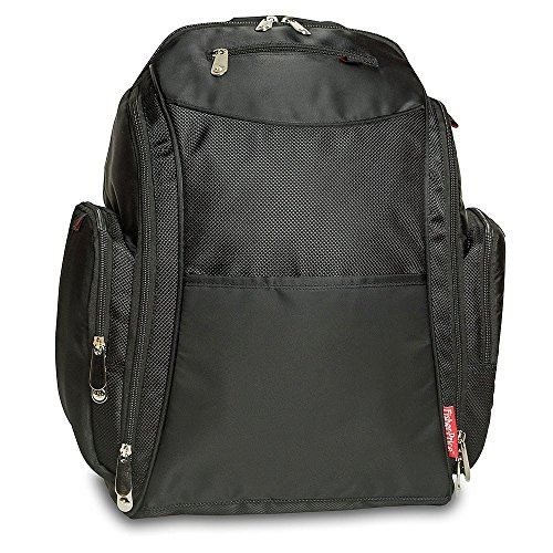 Amazon.com : Fisher Price Backpack Diaper Bag - Fastfinder Black : Diaper Tote Bags : Baby