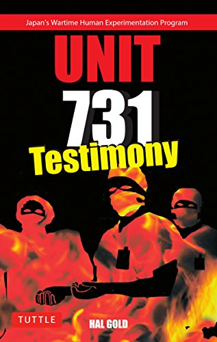 Unit 731 Testimony by Gold, Hal