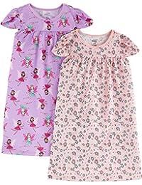 Little Kid Girls' 2-Pack Nightgowns