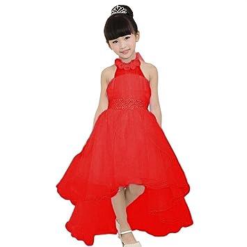 Niñas vestido, Sonnena Kids niña vestido elegante flor niños vestidos princesa Pageant de dama vestido