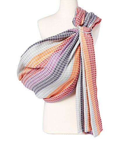 Hip Baby Wrap Ring Sling Baby Carrier for Infants and Toddlers (Rainbow...