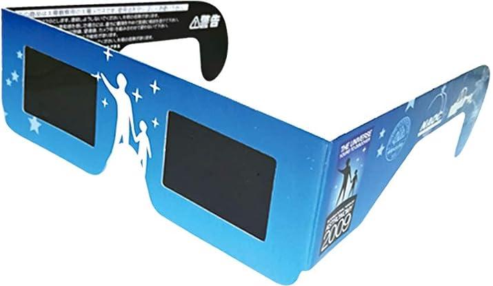 日食グラス(太陽メガネ)CE安全規格認証日食レンズ
