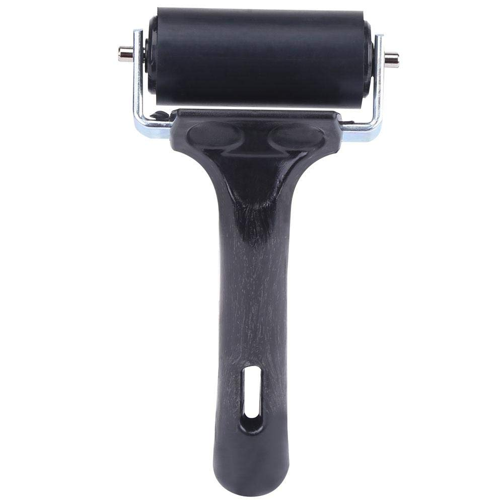 Paint Brush Ink Applicator Art Craft Oil Painting Construction Soft Brayer Roller Tool,Professional Scrapbooks Printmaking Wallpapers Stamping Painting Tool Rubber Brayer Roller