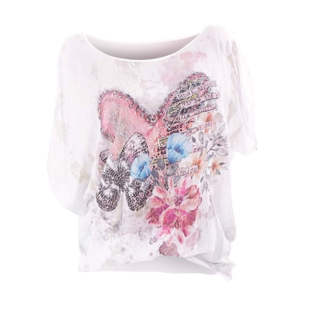 Camisetas para Mujer, Camisetas de Talla Grande, teñidas con ...