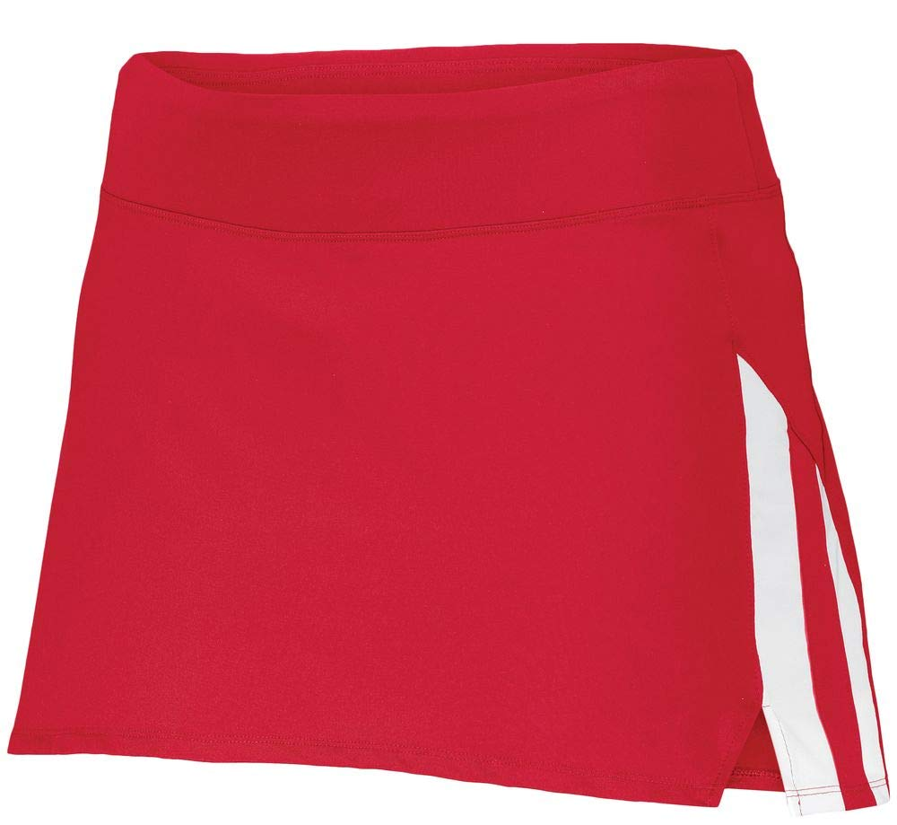 Augusta Sportswear Girls Full Force Skort M Red/White by Augusta Sportswear