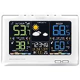 La Crosse Technology C87030 Multicolor  Wireless Forecast Station, White
