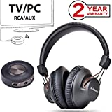 Avantree HT3189 Wireless Headphones for TV Watching & PC Gaming with Bluetooth Transmitter
