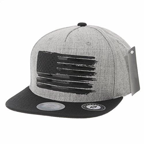 fb417d4babd 2 · WITHMOONS Baseball Cap Star and Stripes American Flag Hat KR2305 (Grey