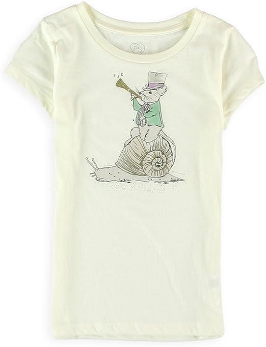 Aeropostale Girls Mouse Ringmaster Graphic T-Shirt