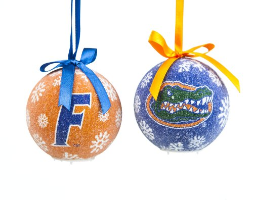 Florida Gators Official NCAA LED Box Set Ornaments by Evergreen Enterprises by Fans With Pride