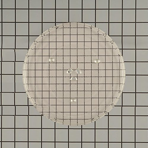 GE Genuine Microwave glass plate 14 1/4 Inches BWR982432 fits PS250009 -