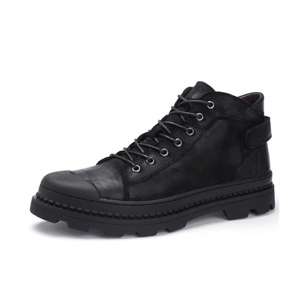 YaXuan Botas para Caminar al Aire Libre y Deportivas, Botas para Caminar Trekking Impermeables para Adultos, Zapatos Antideslizantes y Transpirables, Zapatos Altos, Zapatos Deportivos, 40|Negro