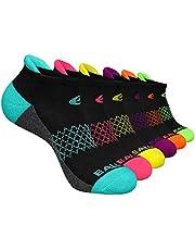 Eallco Womens Ankle Socks 6 Pairs Running Athletic Cushioned Socks