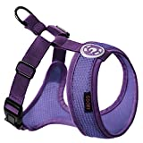 Gooby Choke Free Freedom Mesh Harness Specially Made for Small Dogs, Lavender, X-Small